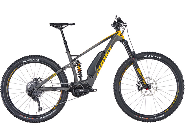 "Ghost Hybride SL AMR X S5.7+ LC 29/27,5+"", grey/yellow"